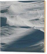 Snow Drift Wood Print
