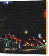 Holiday Lights Wood Print