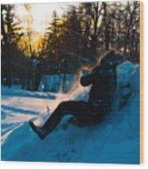Snow Hill Wood Print