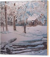 Snowbound Wood Print
