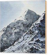 Snowdon Wood Print