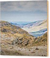 Snowdonia Landscape Wood Print