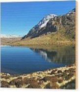 Snowdonia Panorama Wood Print
