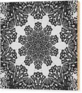 Snowflake 13 Wood Print
