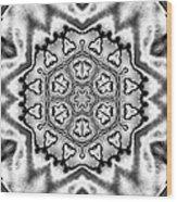 Snowflake 7 Wood Print
