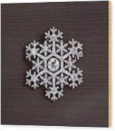 snowflake II Wood Print