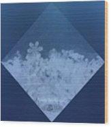 Snowflake Jewel Wood Print