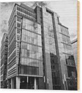 snowhill office development in new financial area of Birmingham UK Wood Print
