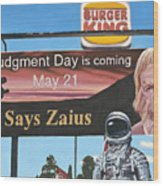 So Says Zaius Wood Print