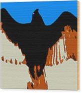 Soaring Raptor Wood Print