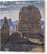 Soaring Red Rock Monoliths Wood Print
