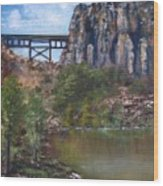 S.o.b Caynon Wood Print