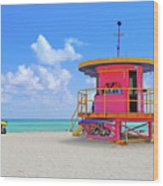 Sobe Lifeguard Wood Print