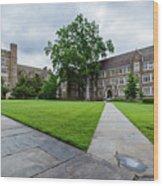Sociology-psychology Building At Duke University Wood Print