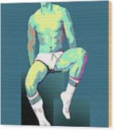 Socks 02 Wood Print