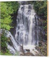 Soco Falls 1 Wood Print