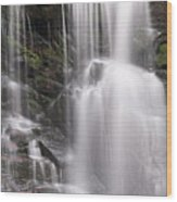 Soco Falls North Carolina Wood Print