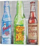 Soda Pops Wood Print