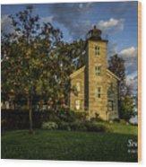 Sodus Point Big Lighthouse Wood Print