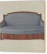 Sofa Wood Print