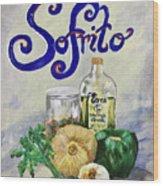 Sofrito Wood Print