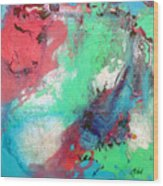 Soft Abstract Wood Print