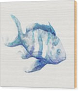Soft Fish Wood Print