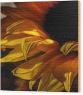 Soft Flame Wood Print