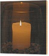 Soft Glow Wood Print