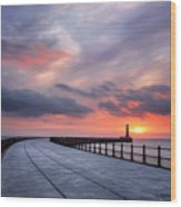 Soft Morning Light Wood Print