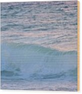 Soft Oceans Breeze  Wood Print