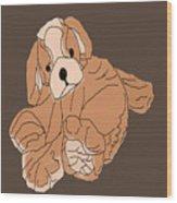 Soft Puppy Wood Print