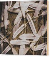 Soft Symbol Of Peace And Hope Wood Print