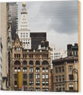 Sohmer Piano Building And Flatiron District  Wood Print