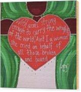 Sojourner Truth Wood Print