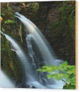 Sol Duc Falls 1 Wood Print