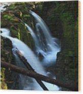 Sol Duc Falls 3 Wood Print