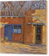 Sol Y Sombre Wood Print by Ann Peck