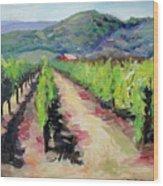 Solano Vineyards Wood Print