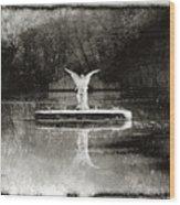Solar Angel Wood Print