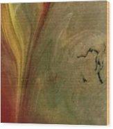 Solar Crack Wood Print