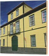 Solar Da Mafoma, Azores Wood Print