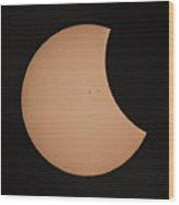 Solar Eclipse 1333 Wood Print