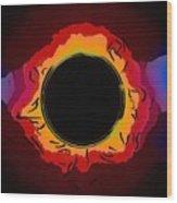 Solar Eclipse 3 Wood Print