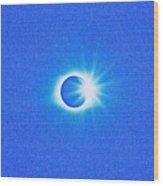 Solar Eclipse, 32 Wood Print