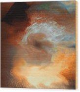 Solar Eruption Wood Print