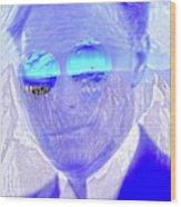 Solar Flare In My Eyes Wood Print