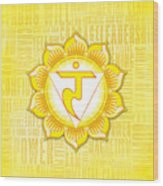 Solar Plexus Chakra - Awareness Wood Print