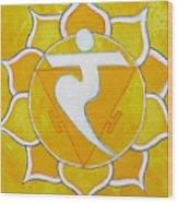Solar Plexus Chakra - Manipura Wood Print