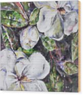 Sold Steal Magnolias Wood Print